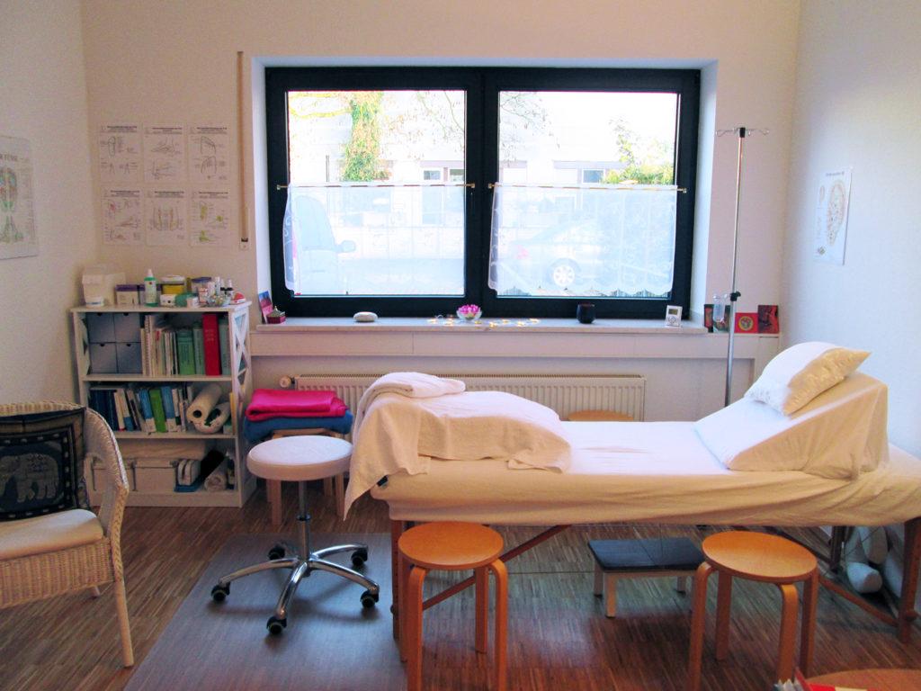 Naturheilpraxis Birgit Castrup Behandlungsraum